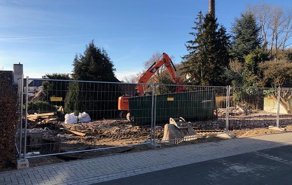 Neubau zwei Einfamilienhäuser in Königstein-Falkenstein
