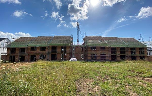 Landglück Neubau Einfamilienhaus