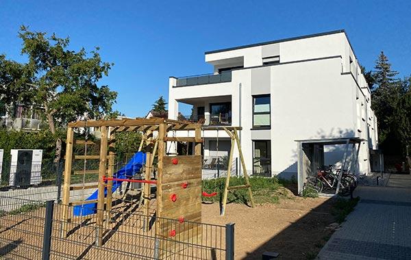 ParkSide Neubau Mehrfamilienhaus